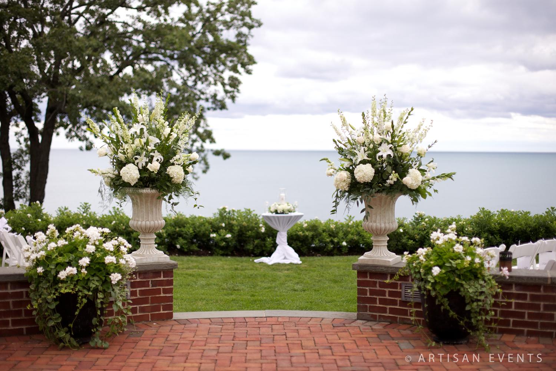 Shore Acres Golf Club Outdoor Ceremony
