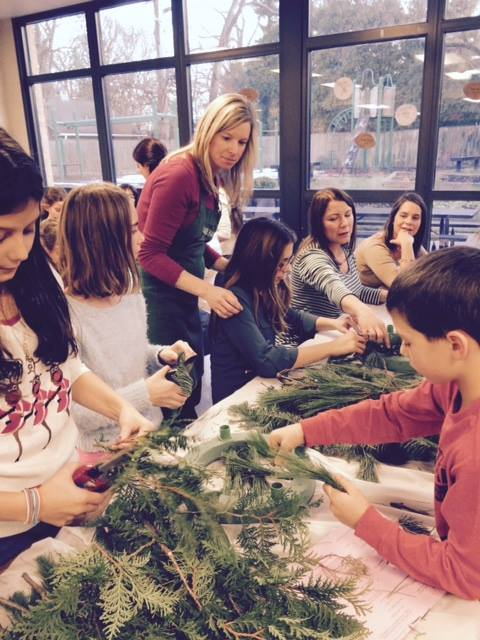 Advent Wreath making workshop