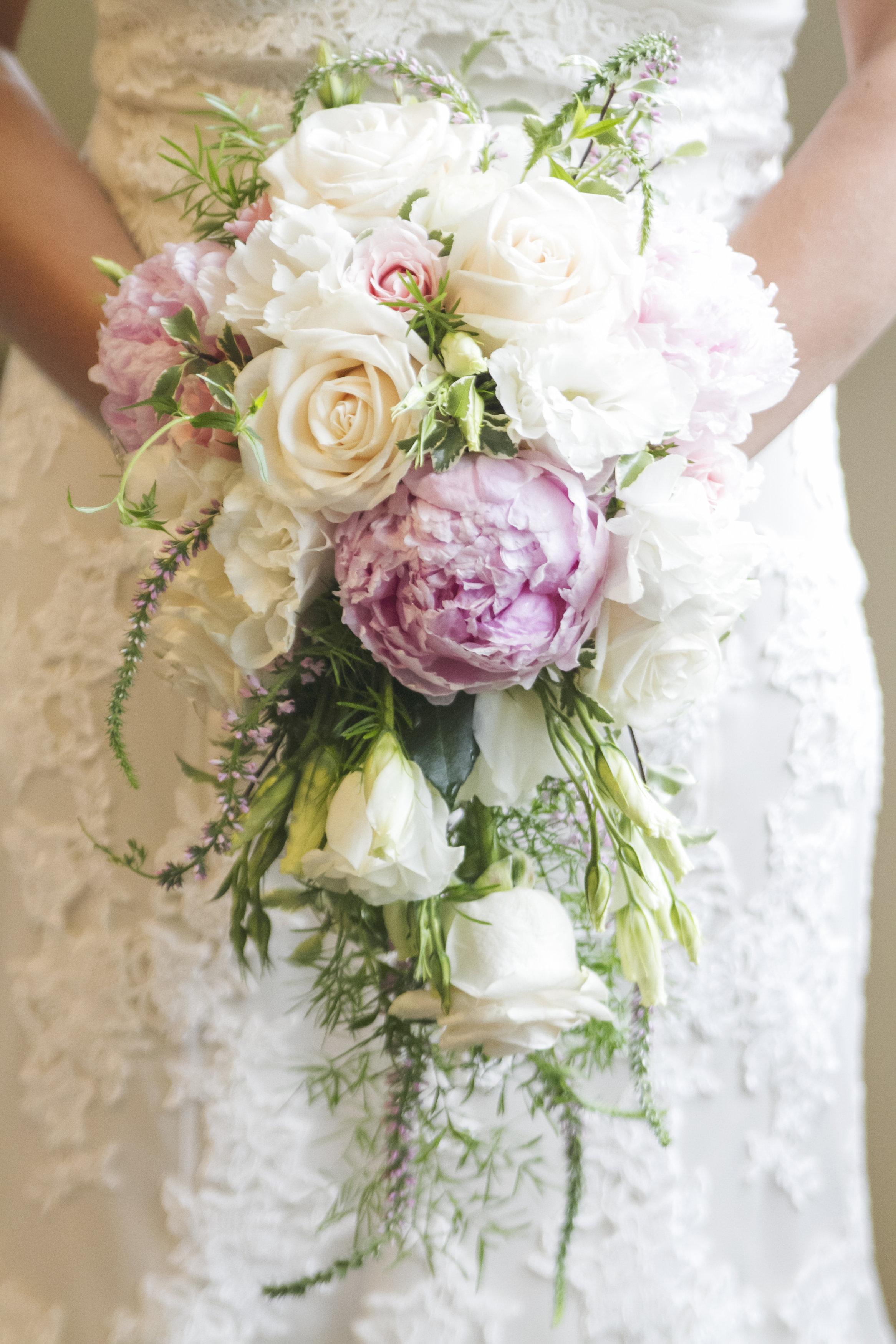 soft cascade bouquet
