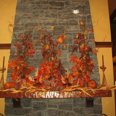 Custom Fall Mantle