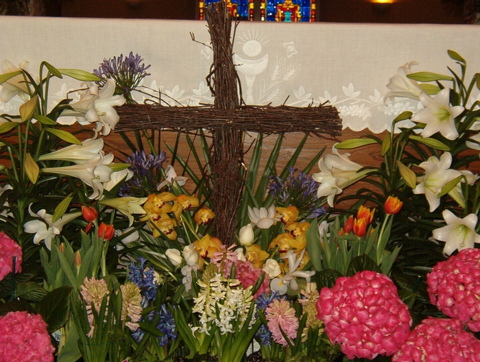 Altar decor - close up