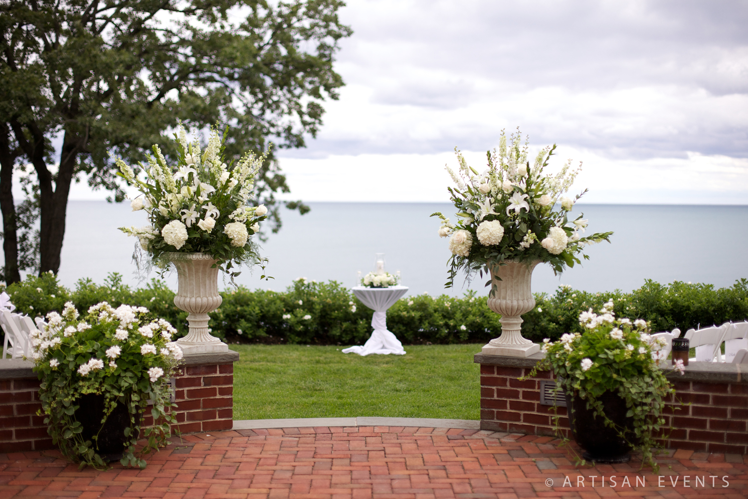 Shore Acres Golf Club Outdoor Ceremony