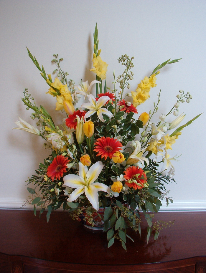 Custom Flower Arrangement with Fall Colors