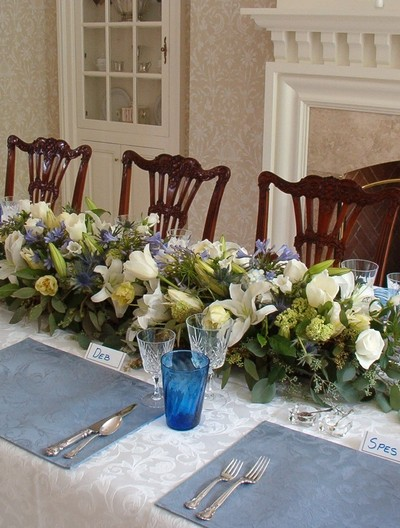 intimate  spring dinner party