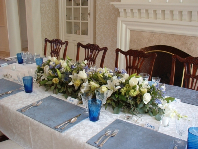 Custom Flowers Table Centerpiece
