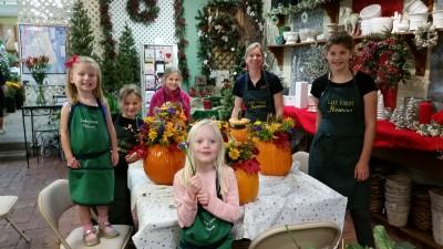 Kids pumpkin class